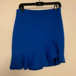 BRAND NEW Alice + Olivia Ruffle Skirt, Size 8
